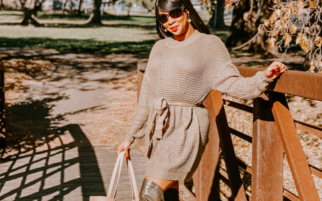 3 Must-Have Winter Sweater Dresses