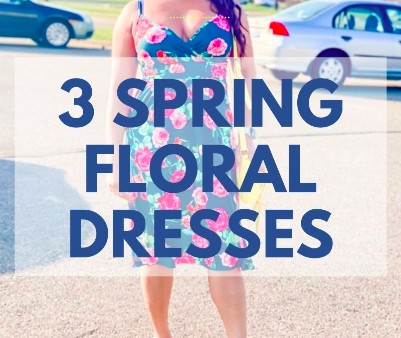 BEAUTIFUL FLORAL SPRING DRESSES TO WEAR