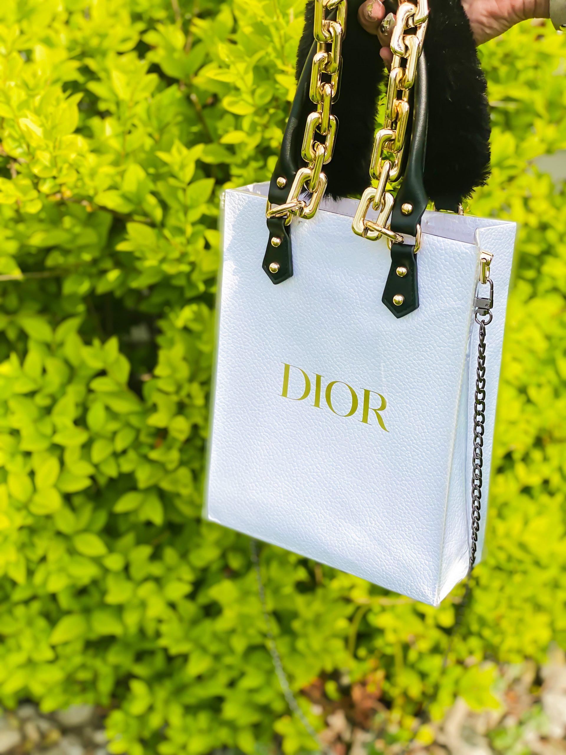 diy dior totery bag