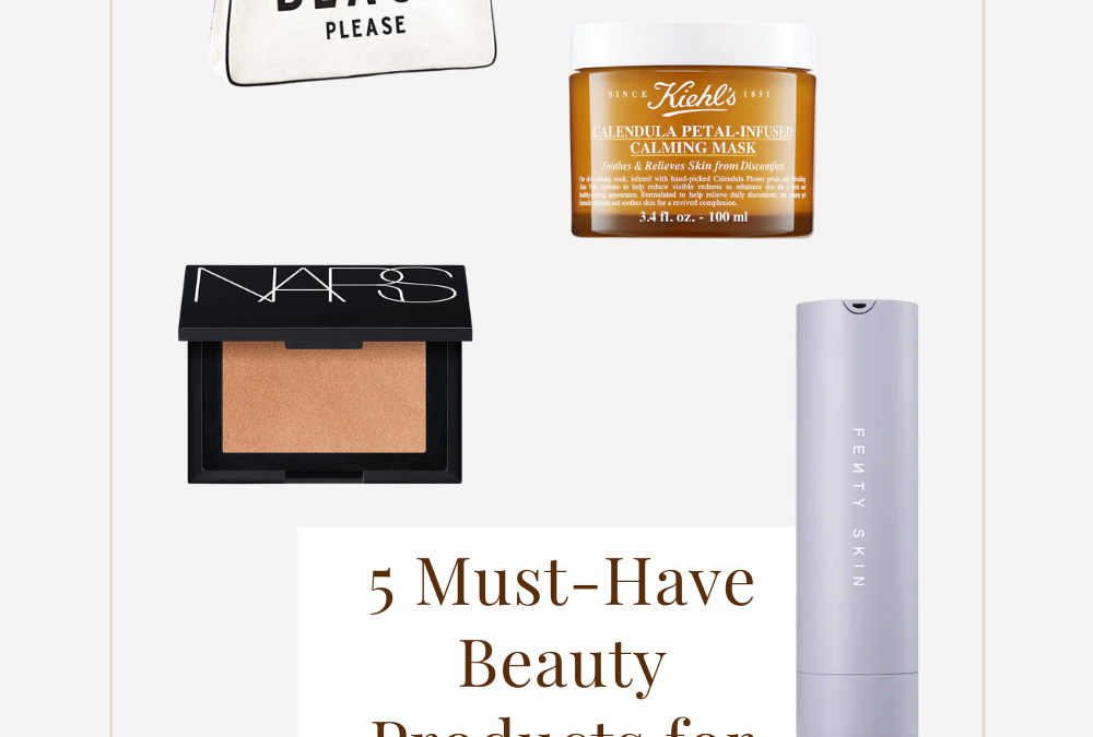 5 Must-Have Beauty Products for This Summer Vacation